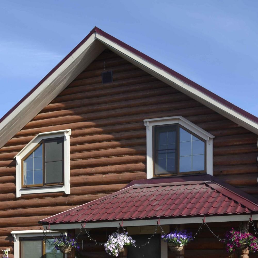 Переделка крыши дачного дома