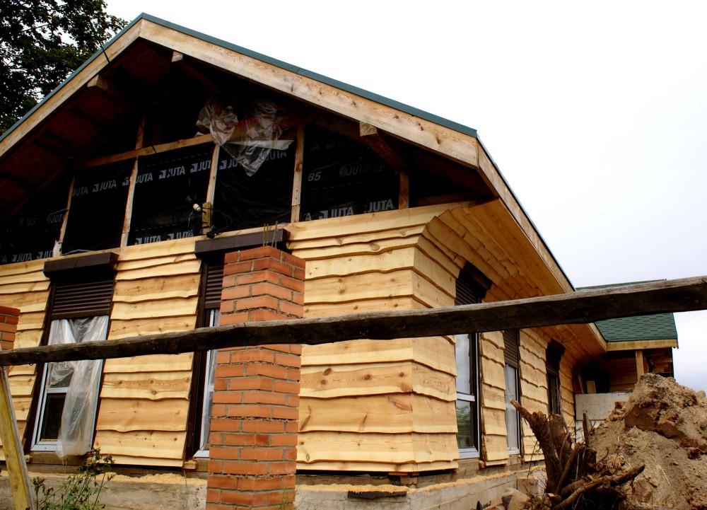 Дом из досок