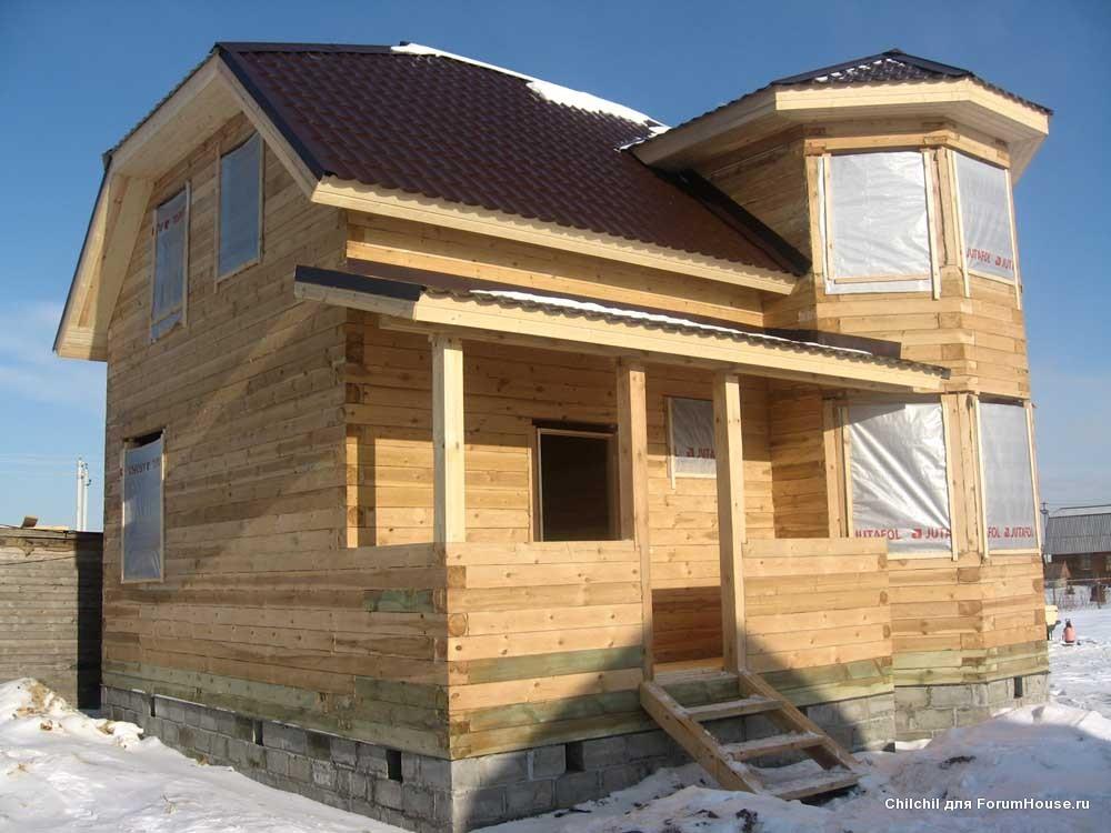 Проекты домов из бруса своими руками фото